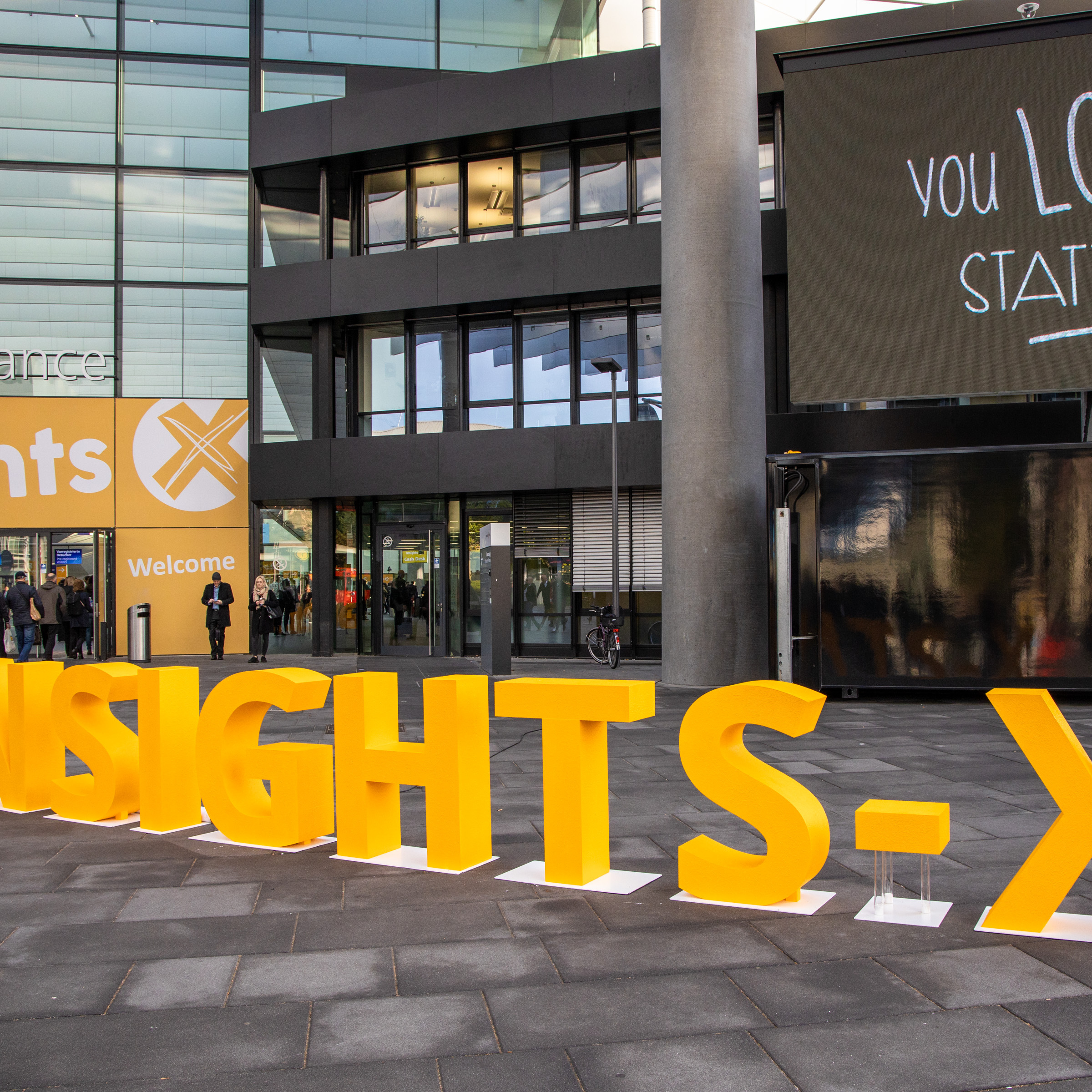 Insights-X 2019 Entrance Mitte